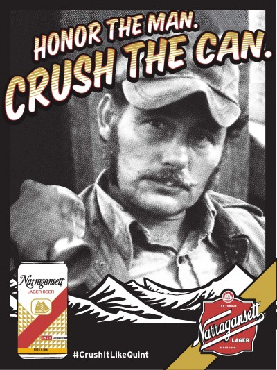 Celebrate Shark Week with Narragansett Throwback Cans