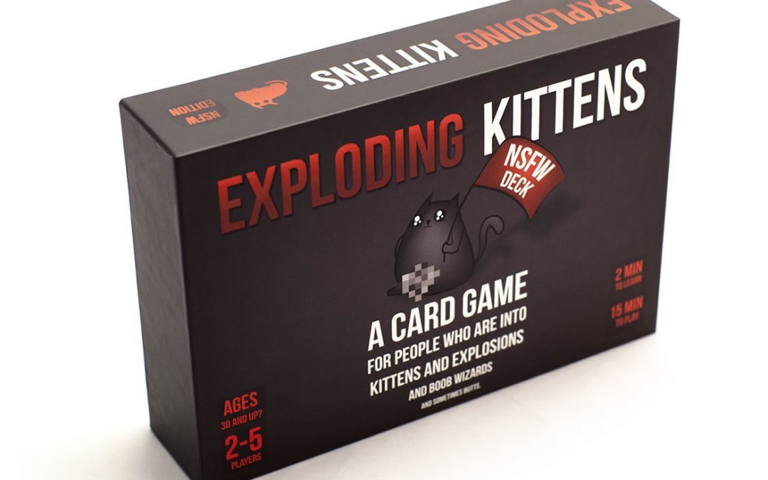Exploding Kittens: NSFW Edition is back in stock