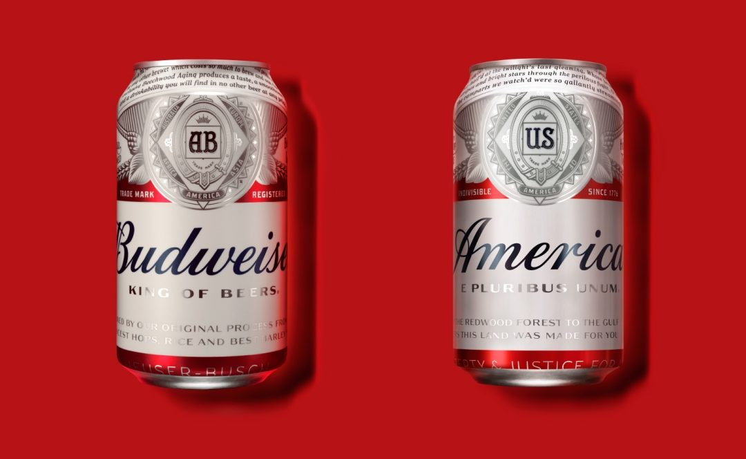 Make Budweiser great again? U.S. beer rebranded 'America' until election